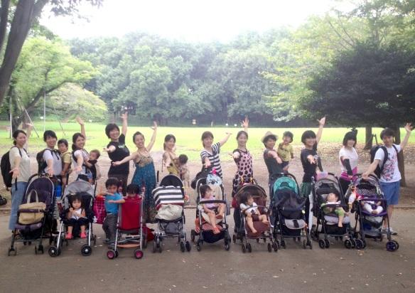 16日24番ママ☆ベイビーダンス